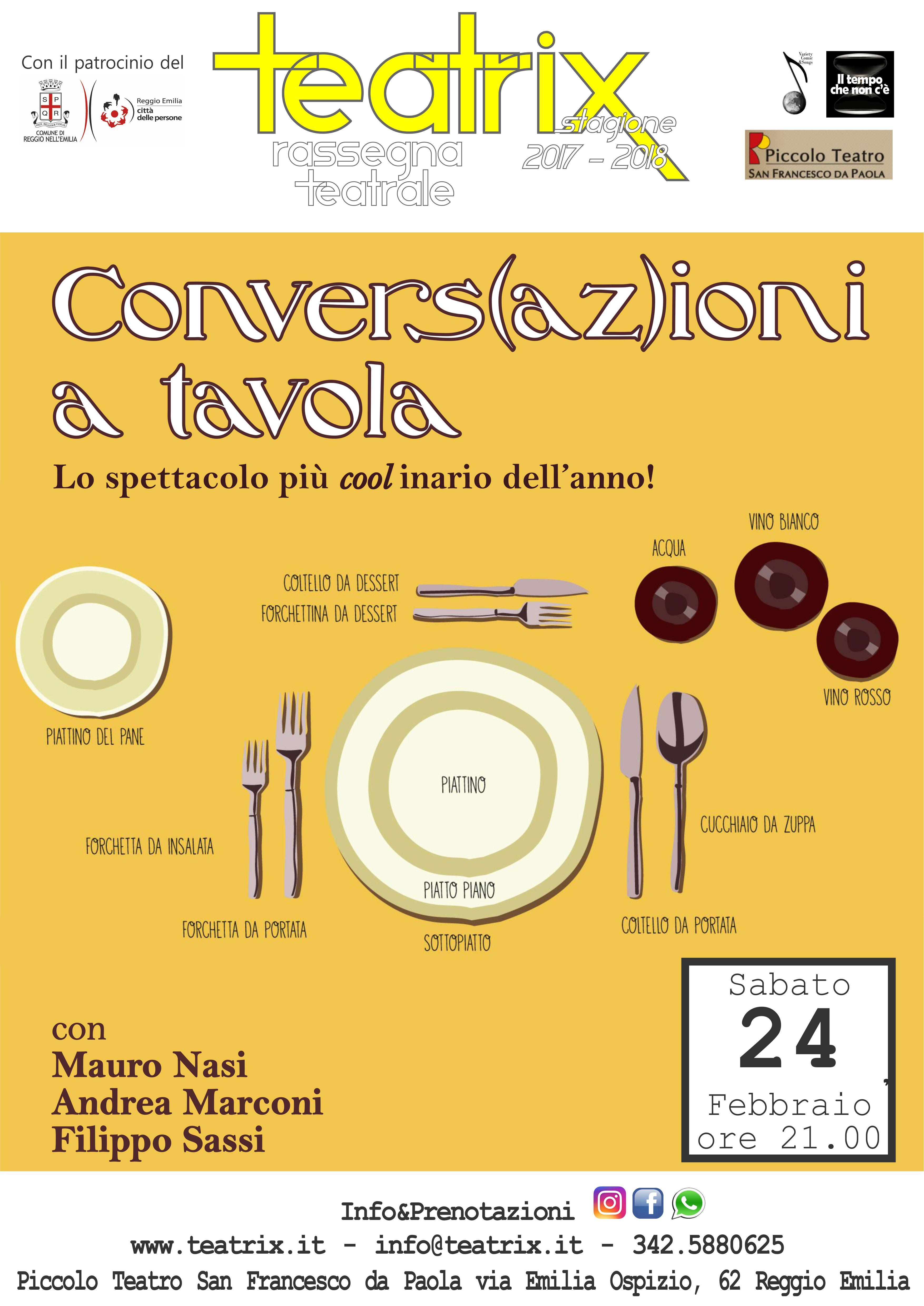Convers(az)ioni a tavola