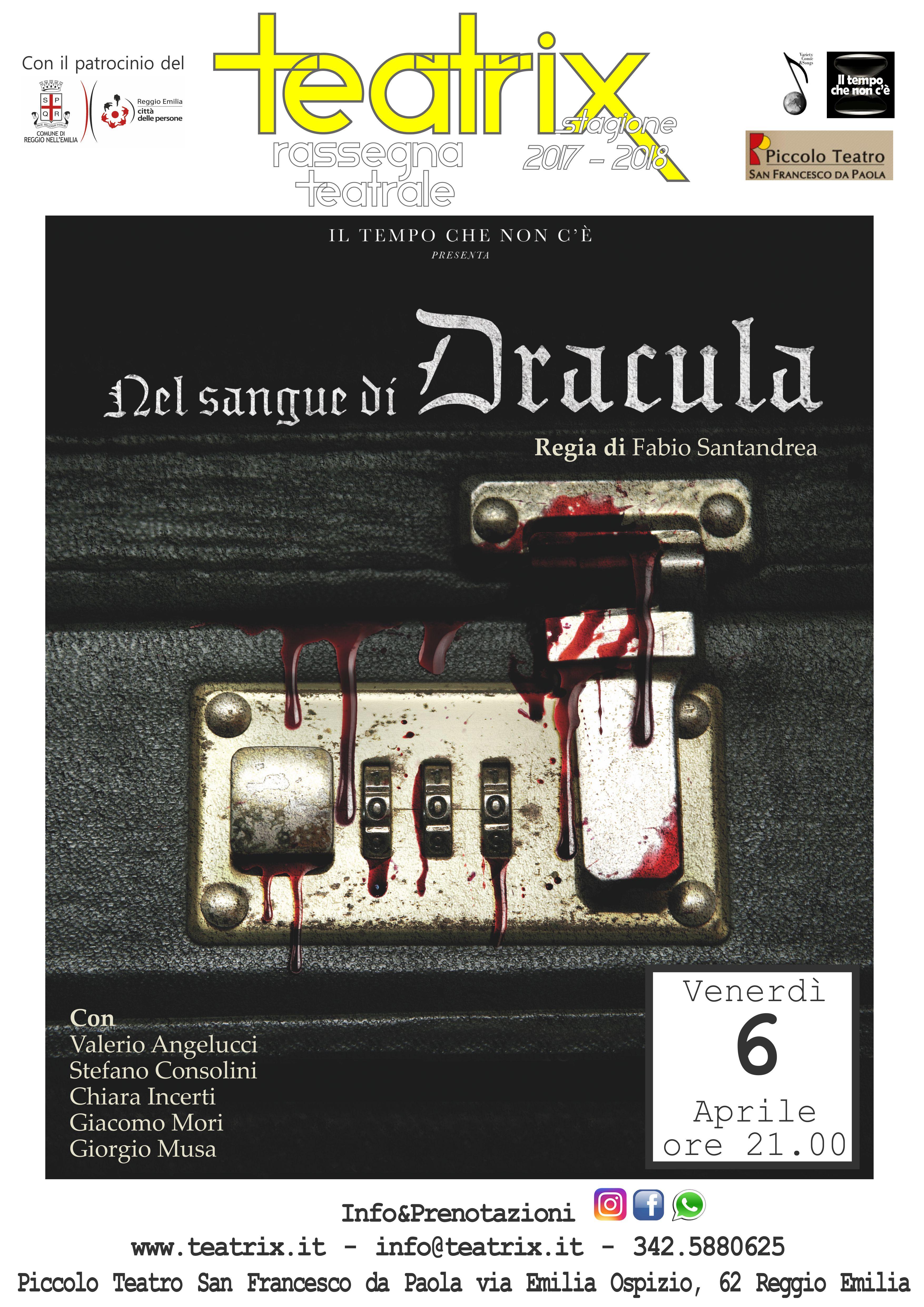 Nel sangue di Dracula – NUOVA DATA