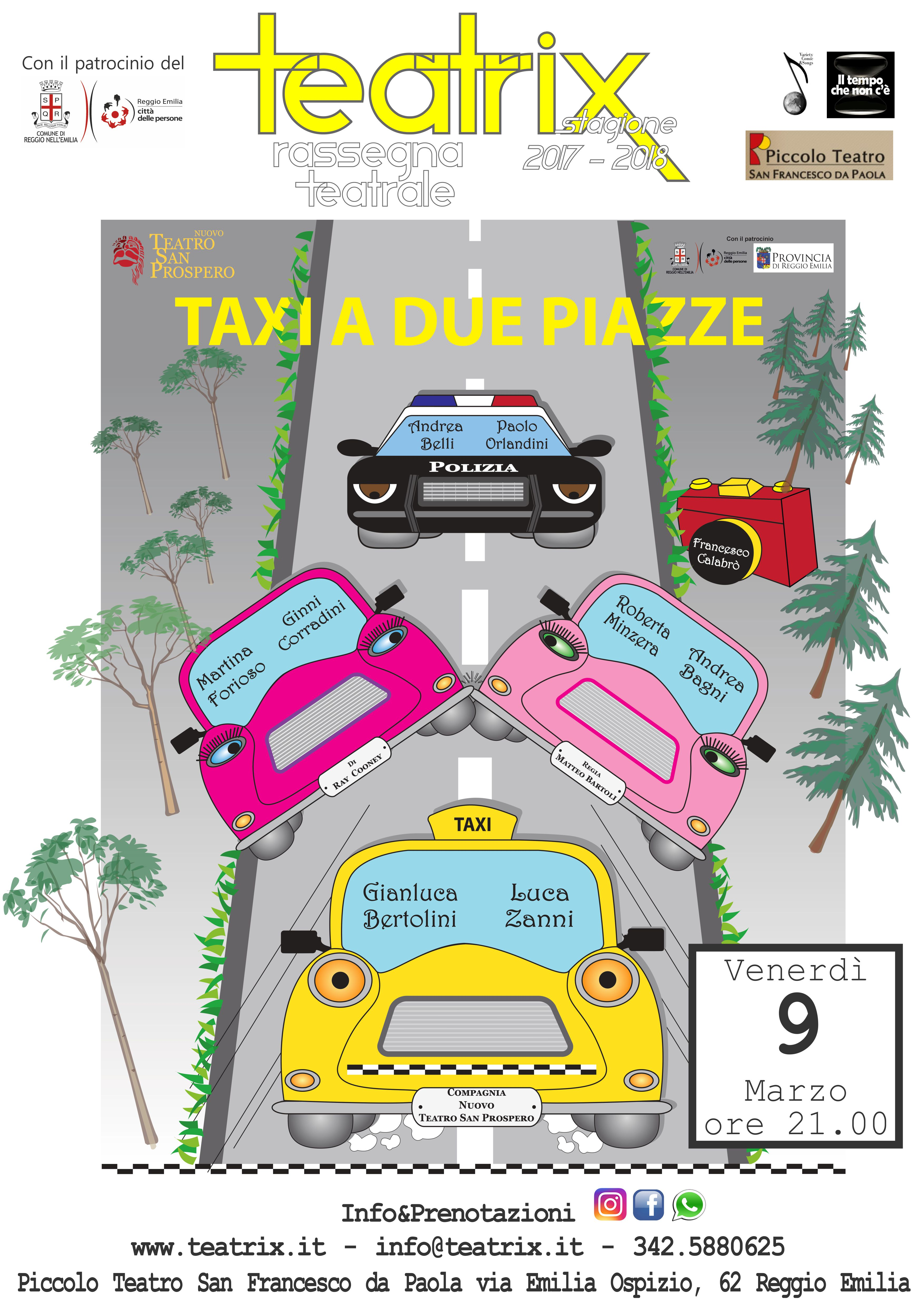 Taxi a due piazze – NUOVA DATA