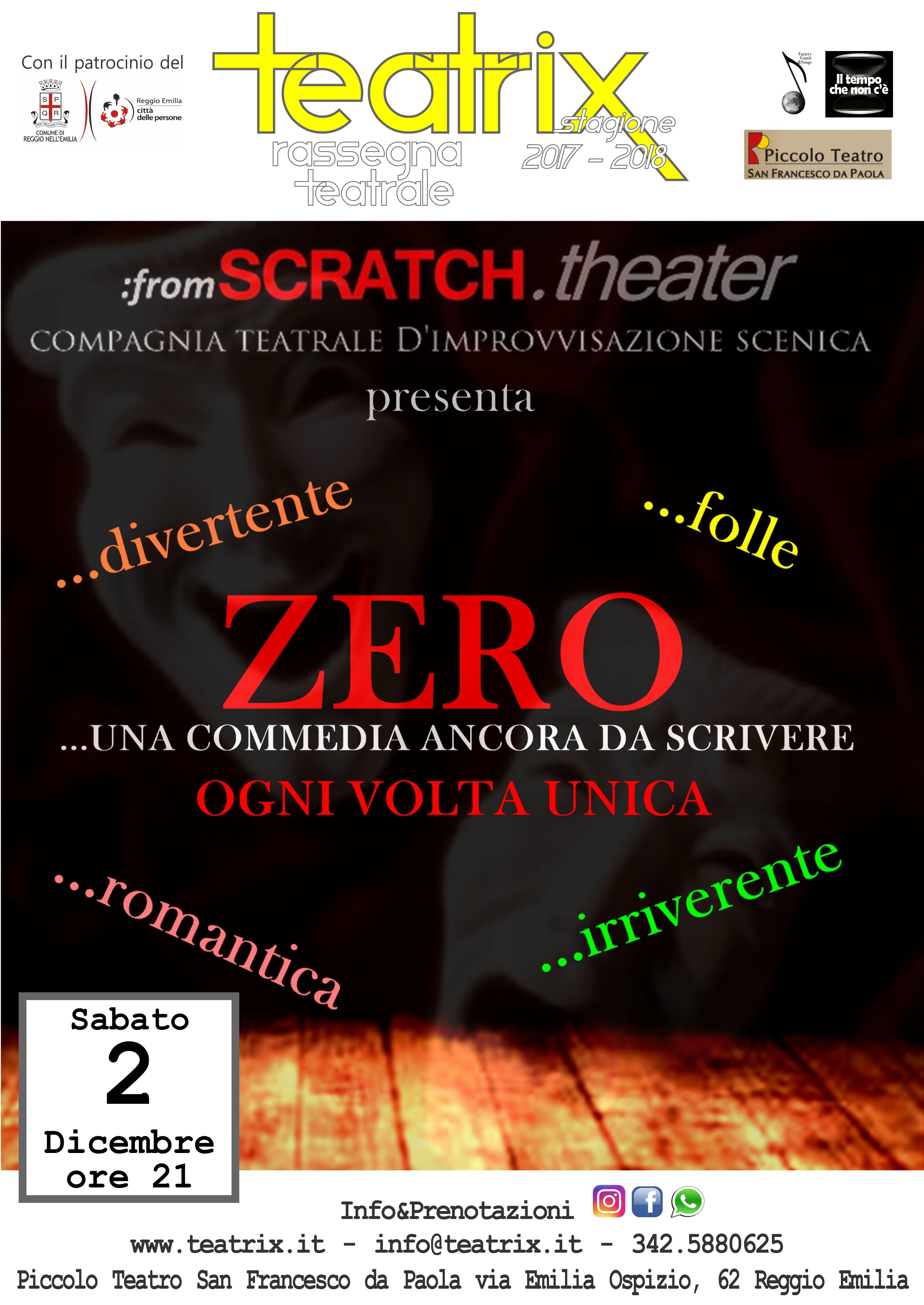 ZERO – Una commedia ancora da scrivere